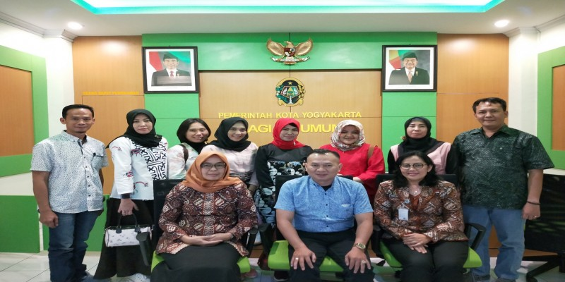 Penerimaan Kunjungan Kerja dari Pemerintah Kota Palembang