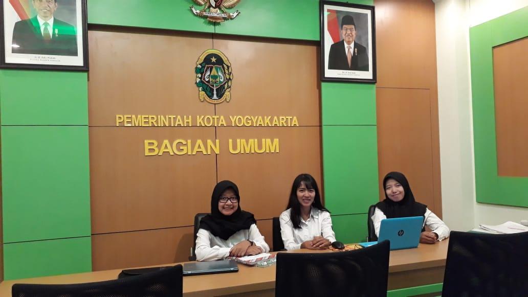 FRONT OFFICE BAGIAN UMUM SETDA KOTA YOGYAKARTA