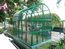 Dome Burung Lengkapi Wajah Balaikota
