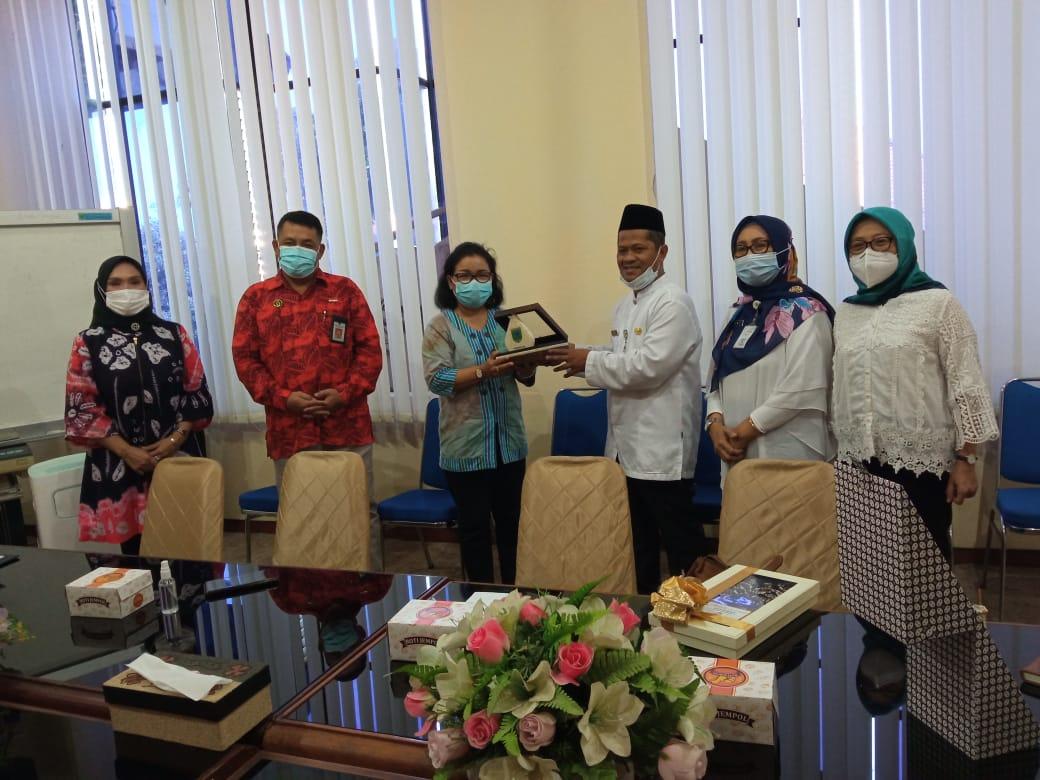 Kunjungan staf ahli walikota Yogyakarta ke Pemkab Kebumen
