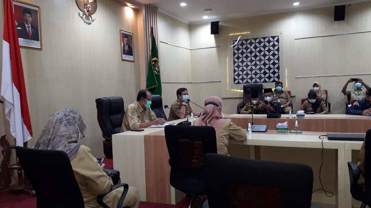 Penerimaan kunjungan kerja DPRD dan Pemkot Pekalongan