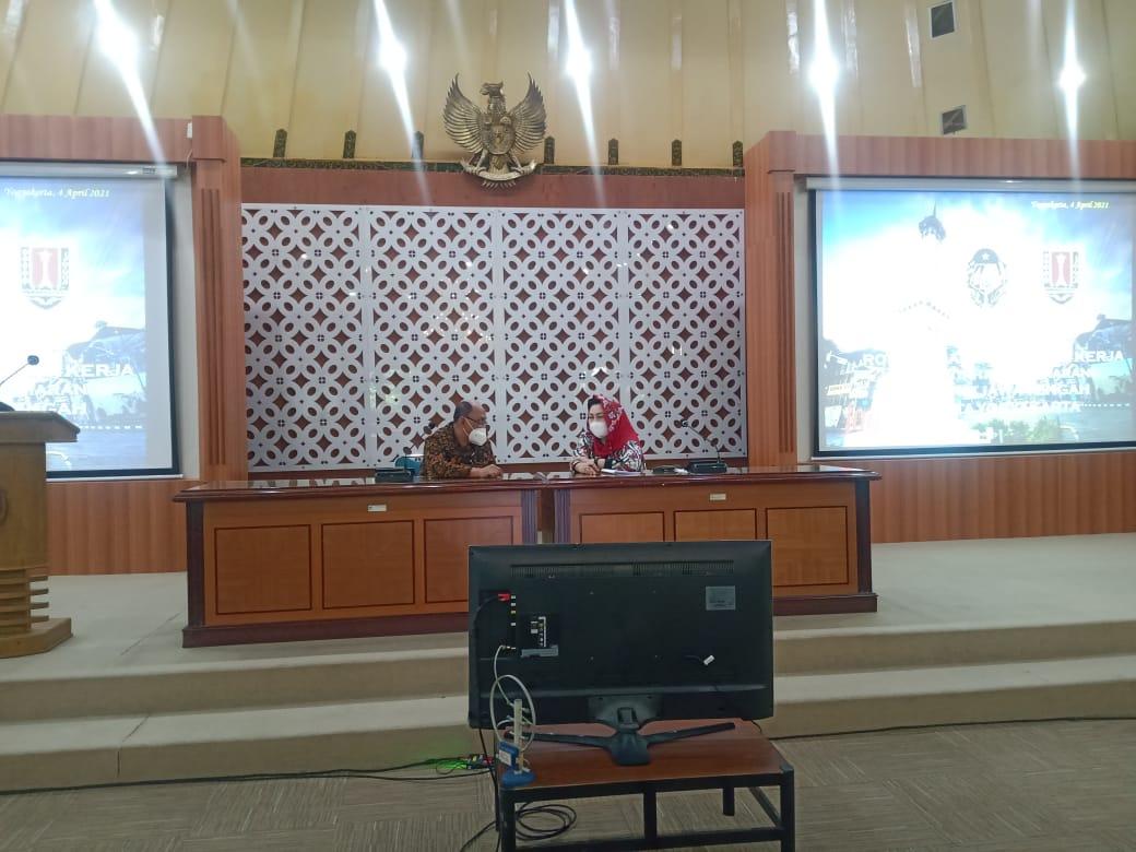 Penerimaan Kunjungan Kerja dari Pemerintah Kota Semarang