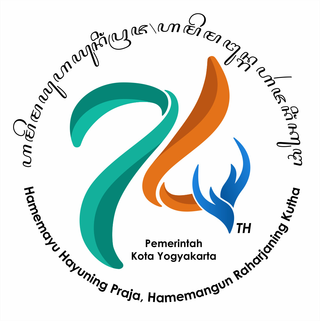 Logo HUT Pemerintah Kota Yogyakarta ke-74