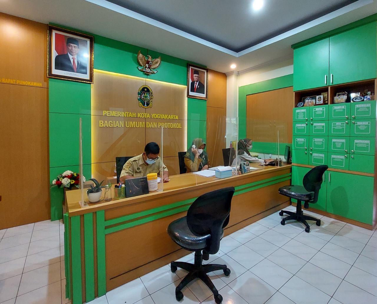 Front Office Bagian Umum dan Protokol